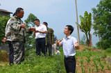 市民宗局到大关检查指导民族团结进步示范村建设情况